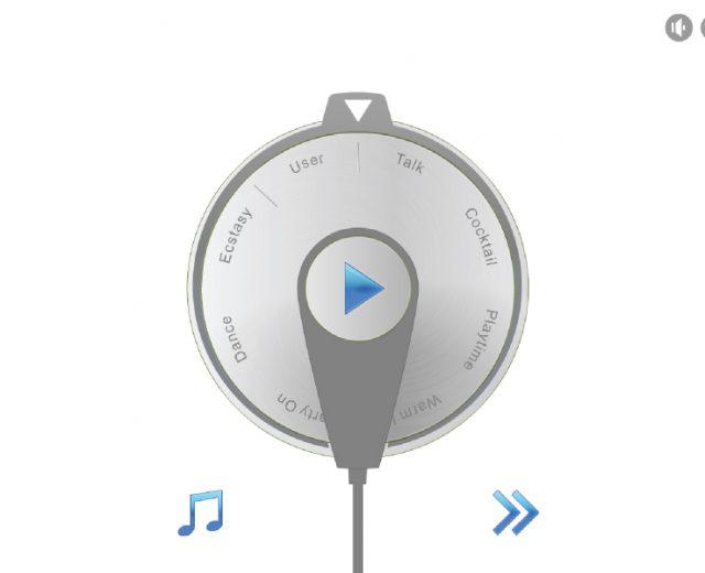 MoodPlayer käyttöliittymäsuunnittelu