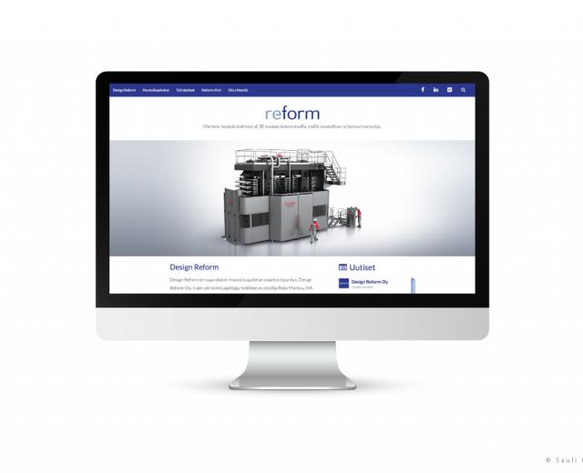 Markkinointimateriaali Reform - Nettisivut