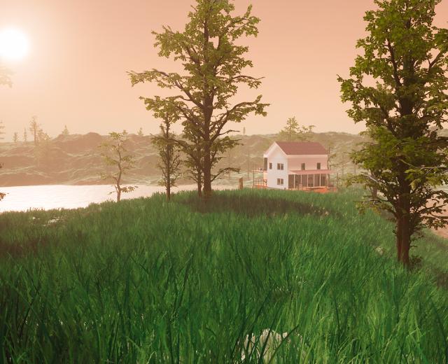 Virtuaalitodellisuus talo