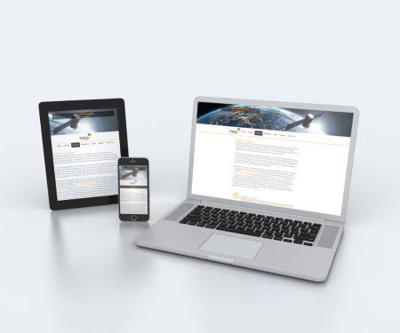 Nettisivusuunnittelu Harp Technologies