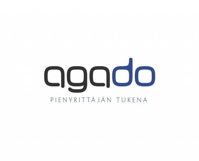 Markkinointimateriaali Agado - Yritystunnus
