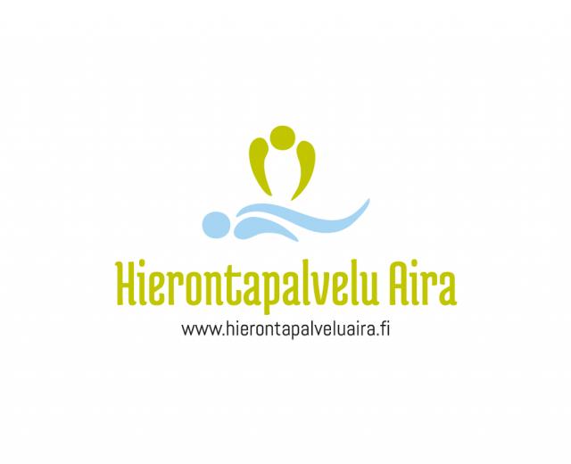 Markkinointimateriaali Hierontapalvelu Aira - Yritystunnus