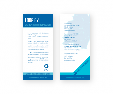 Markkinointimateriaali Loop - Flyer