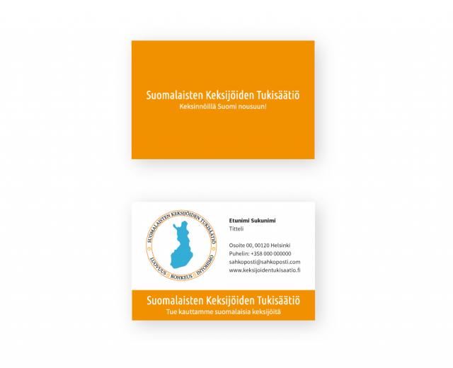 Markkinointimateriaali SKTS - Kayntikortit