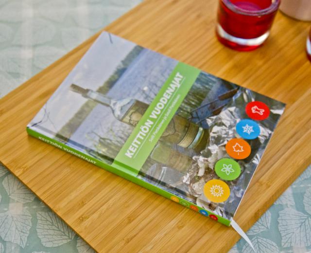 Keittiön vuodenajat kirja - Kuvake